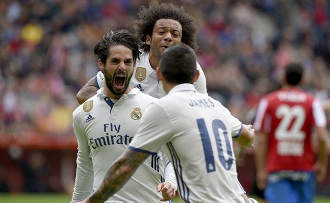 Gol de Isco mantiene líder al Real Madrid en la Liga