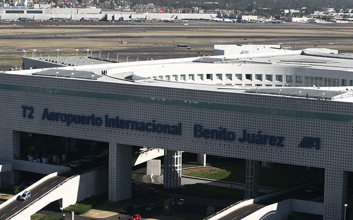 Operaciones fueron afectadas en Aeropuerto de la CDMX por aterrizaje forzoso