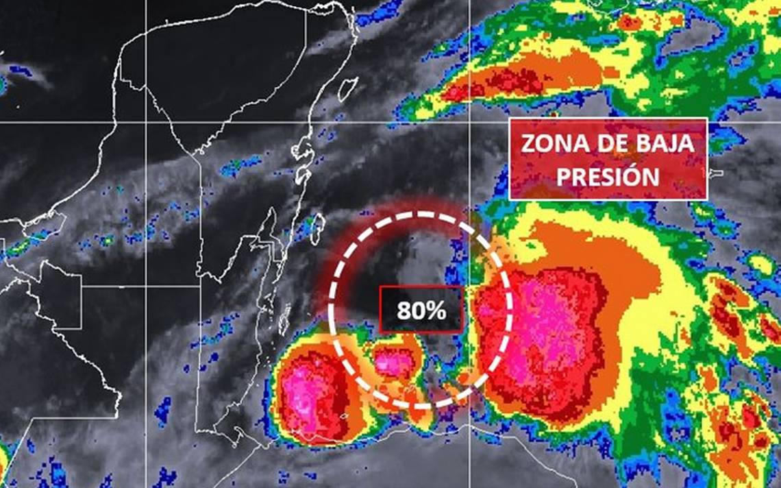 Alertan por posible formaciA?n de huracA?n en el Mar Caribe