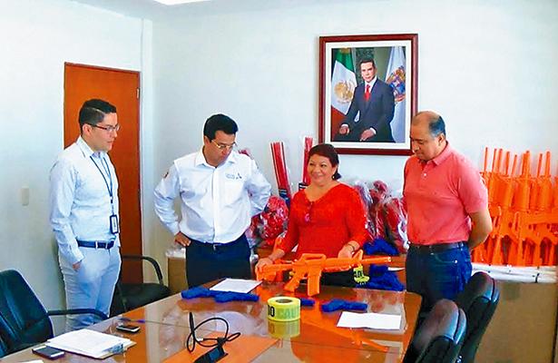 EU dona a Campeche equipo para policía