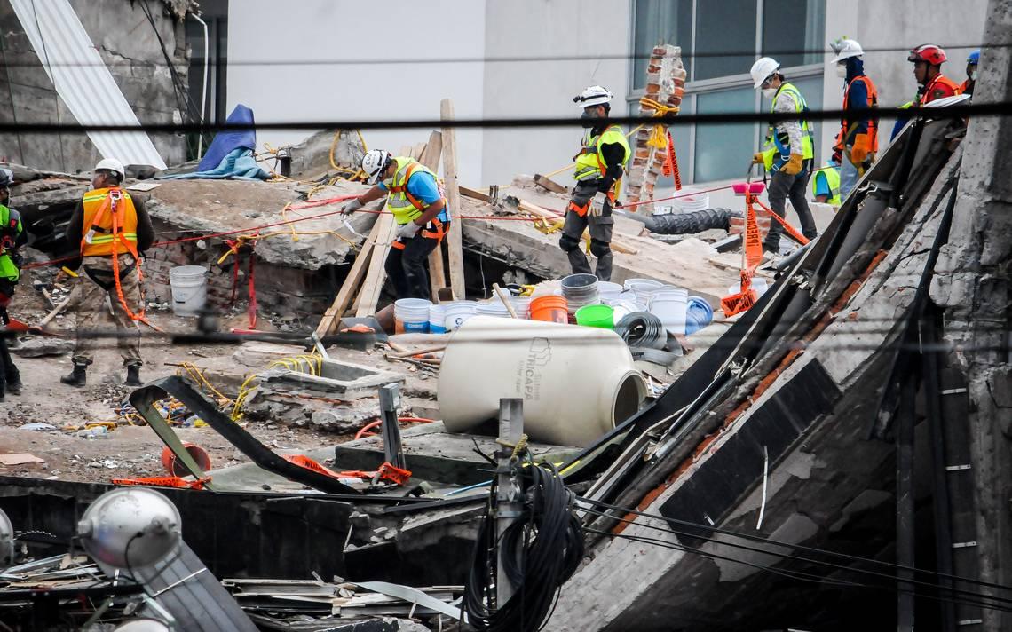 Han sido recuperados 16 cuerpos del edificio de Álvaro Obregón 286