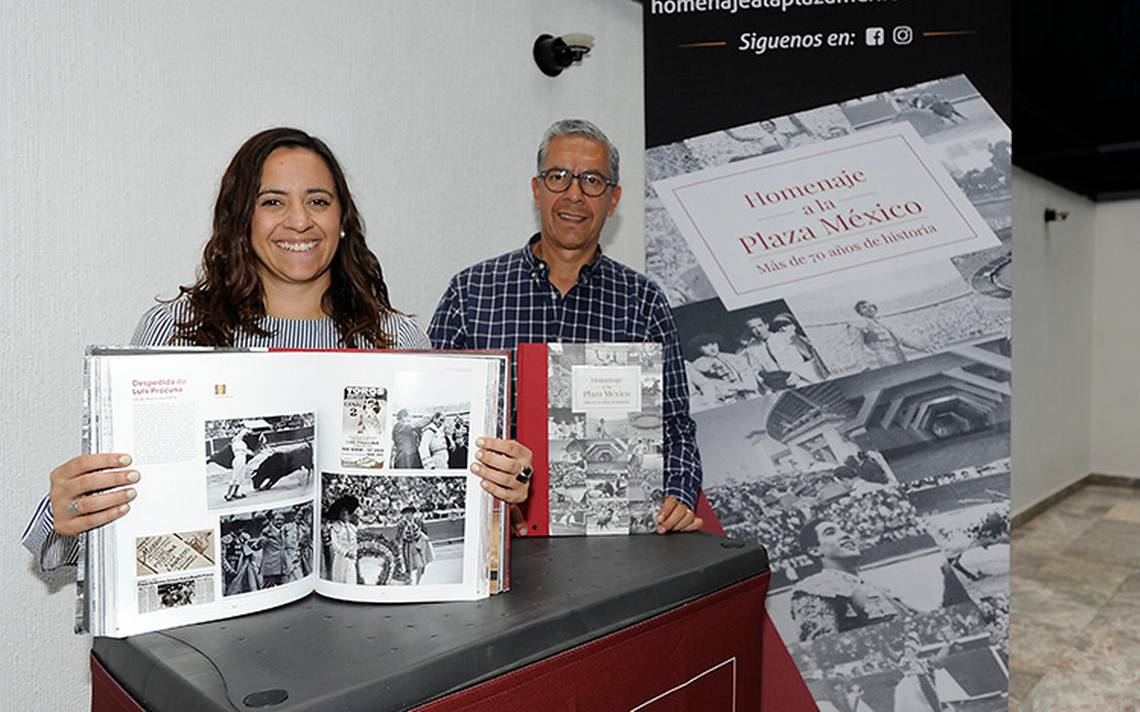 Por aniversario número 70 presentan libro homenaje a la Plaza México