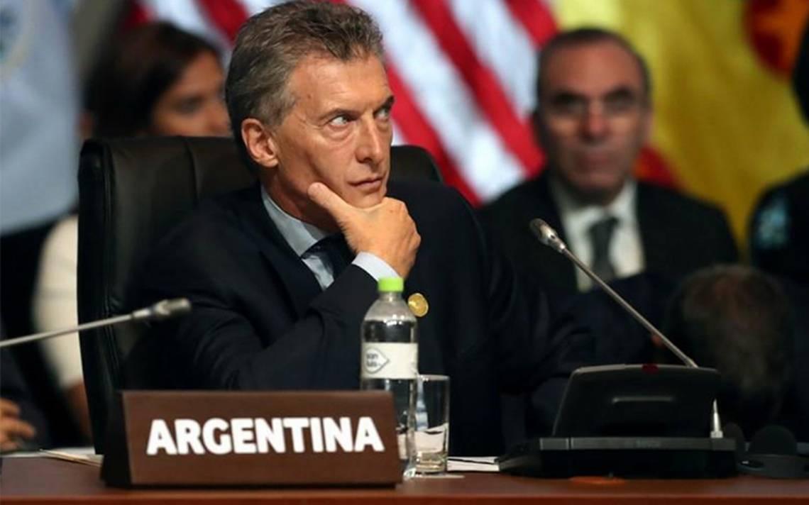 Macri anuncia que pedirá préstamo al FMI ante condiciones adversas de los mercados