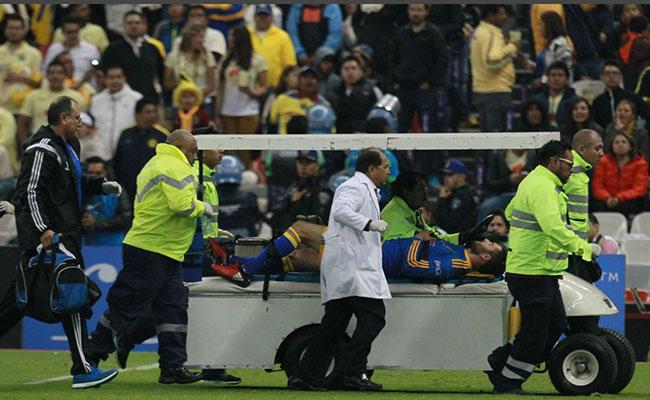 André Gignac, lesionado y es duda para Tigres en la final
