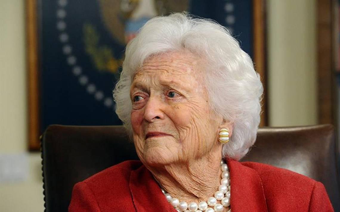 Barbara Bush, la tradicional matriarca que enamoró a Estados Unidos