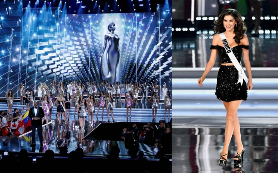 México, eliminada en primera ronda de Miss Universo