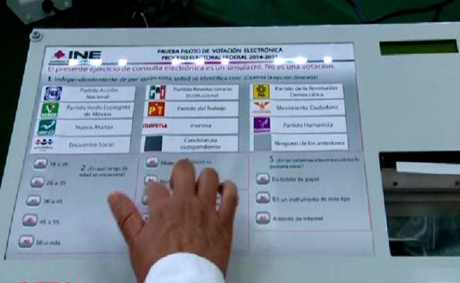 Descarta INE voto electrónico desde el extranjero