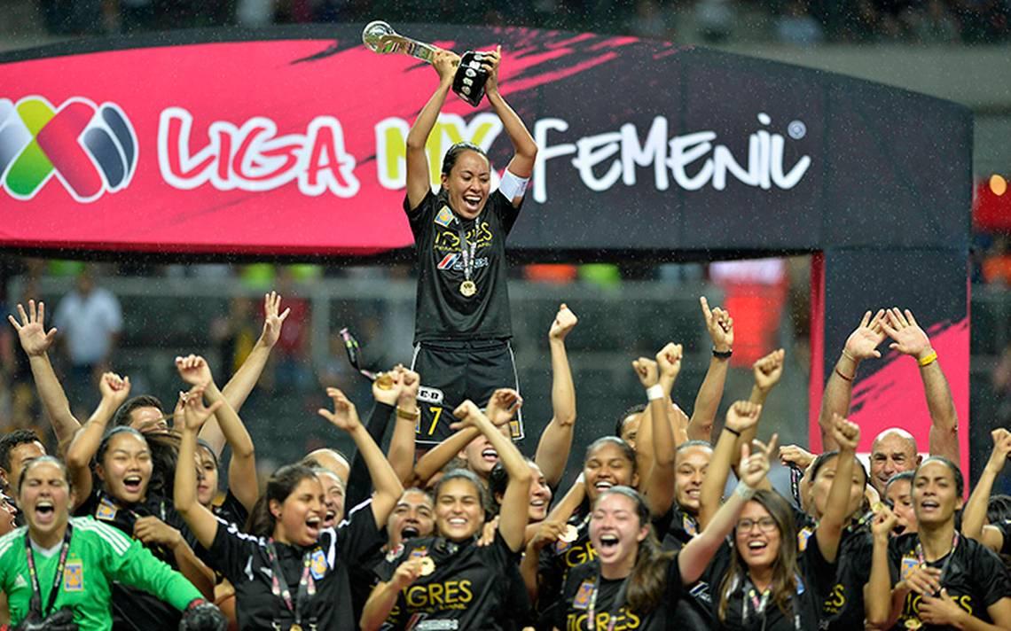 Tigres se corona campeón del futbol femenil