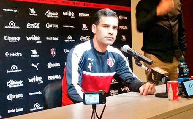 Rafael Márquez, en busca de un mejor trato para los futbolistas