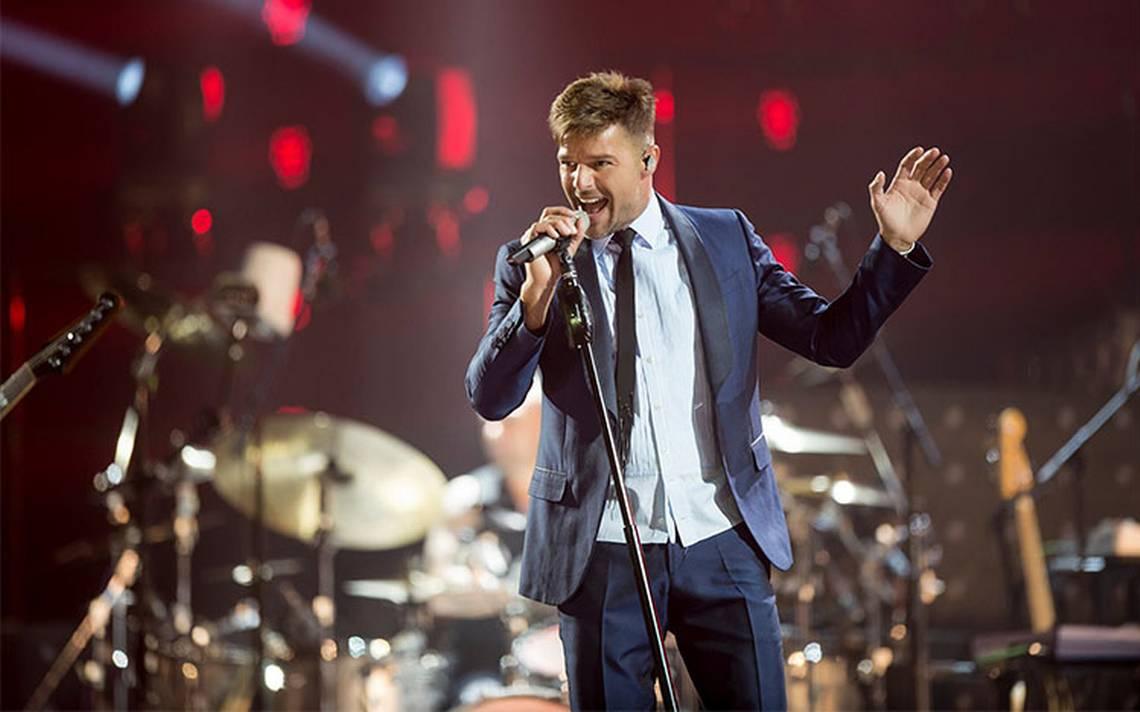 Ricky Martin, feliz de traer alegría a la Ciudad de México
