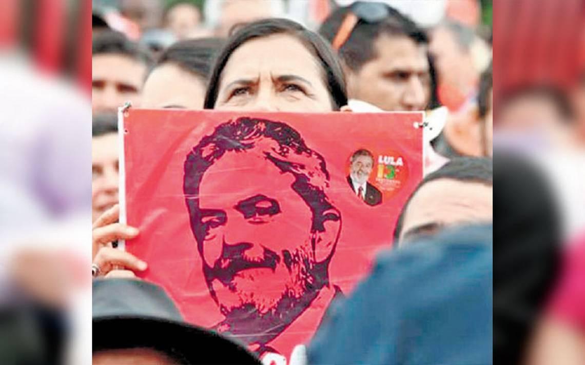 Desde prisión, Lula reafirma que será candidato a la presidencia