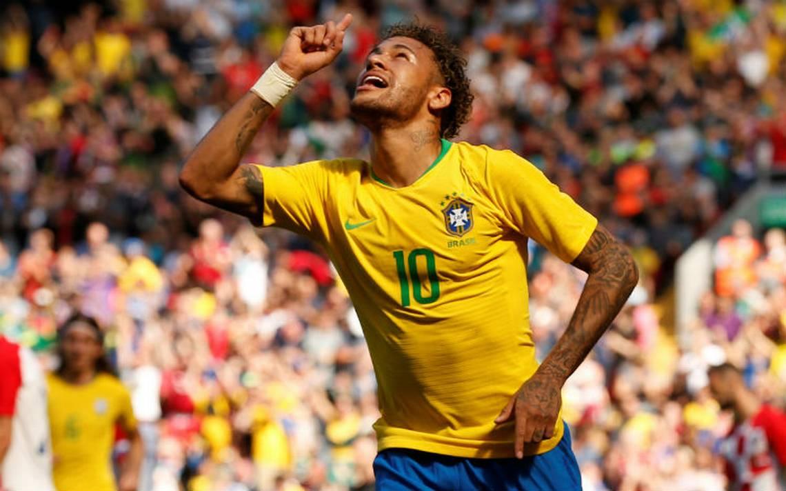 Neymar volvió a las canchas y marca golazo contra Croacia