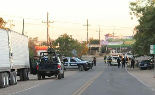 Confirman 5 muertos en enfrentamiento de Navolato; aseguran armas