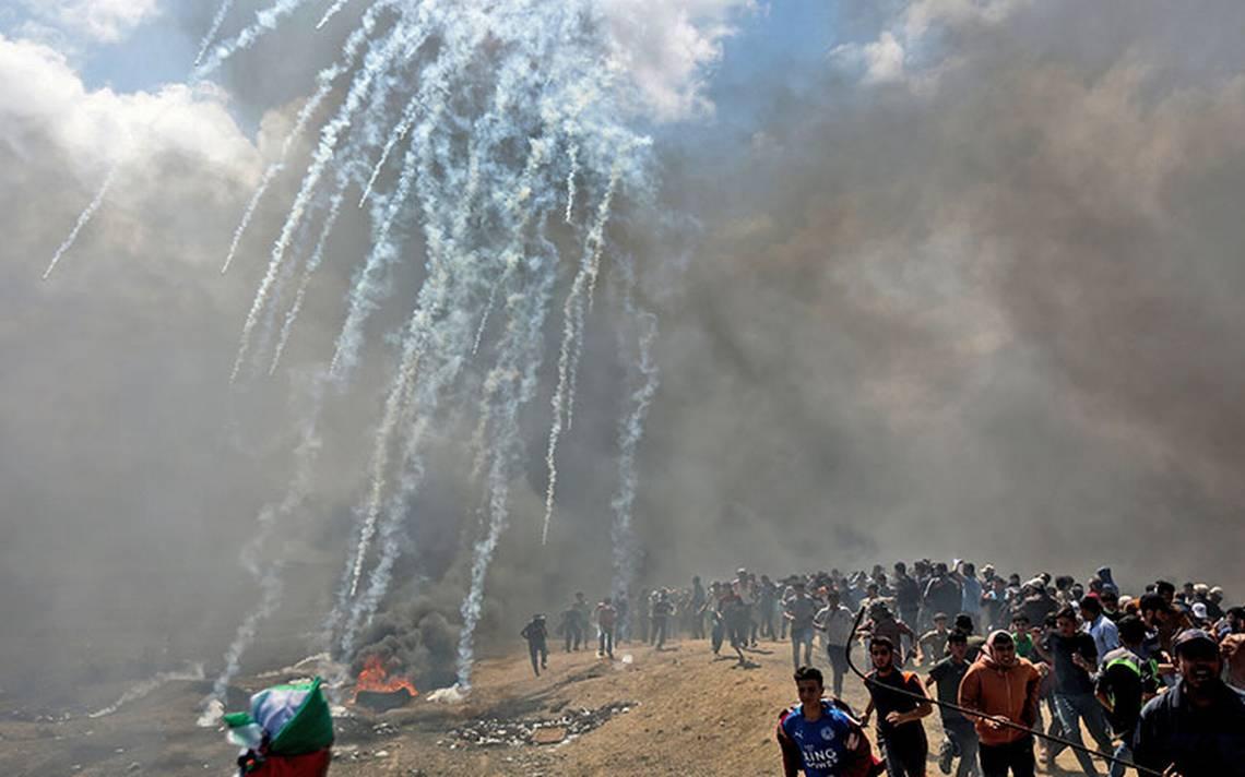 Más de 50 muertos en Gaza por protestas tras cambio de Embajada de EU a Jerusalén