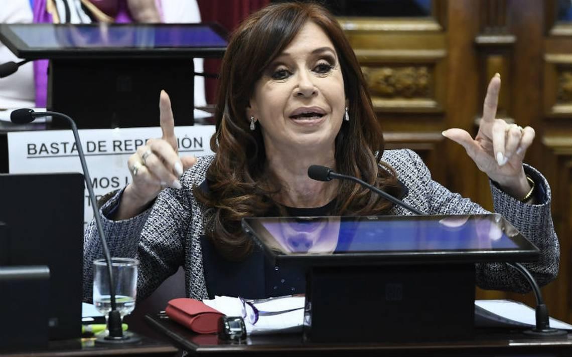 Aprueba Senado argentino cateo a propiedades de  Cristina Fernández
