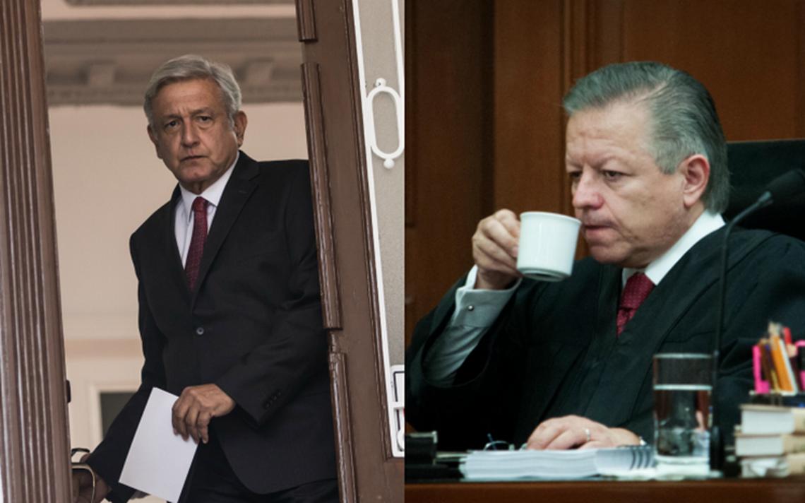 A limpiar diferencias: Ministros de la Corte desayunarán con AMLO