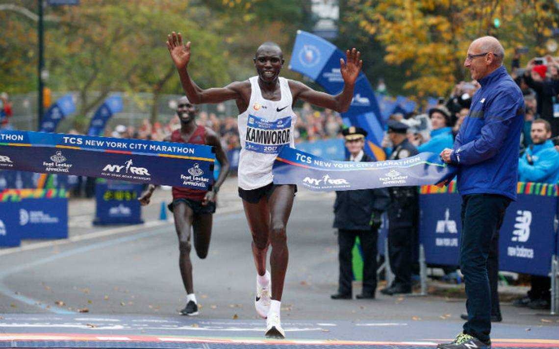 Bajo extrema seguridad, termina maratón de Nueva York; estos son los ganadores