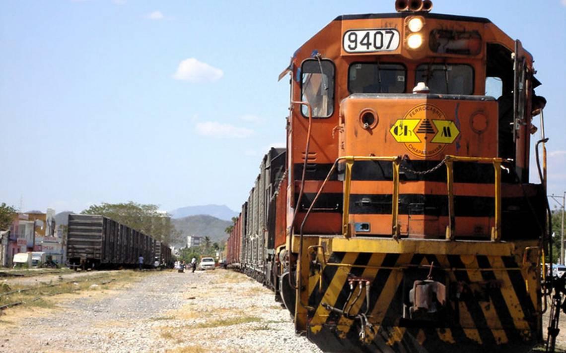 Urge mantenimiento a vías ferreas de Chiapas