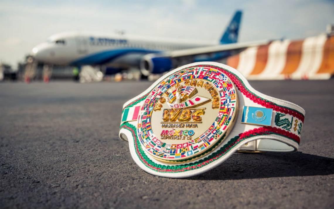 Este es el cinturón chiapaneco Majbanéj-Maya para Canelo o Golovkin