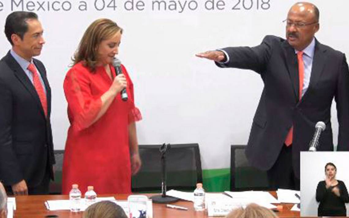 René Juárez llama a la unidad en el PRI tras asumir dirigencia nacional