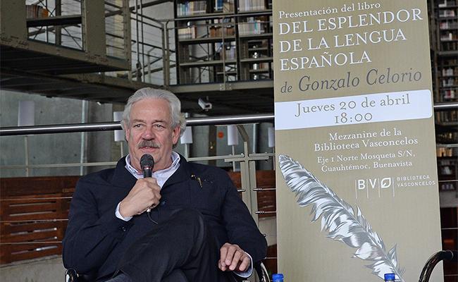 En su nuevo libro exalta Celorio el esplendor de la lengua española
