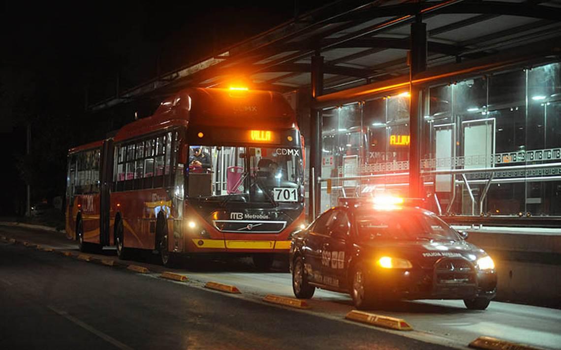 Pasajeros de la línea 6 del Metrobús sufren un nuevo asalto