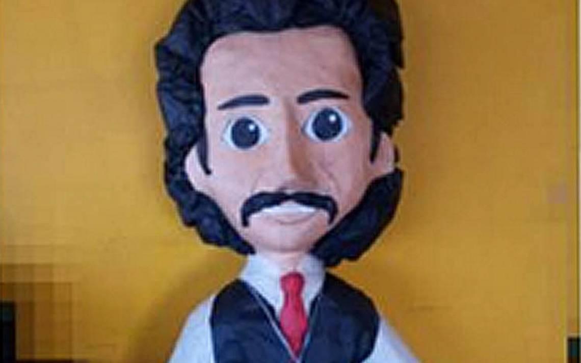 Crean piñata de Luisito Rey para que descargues toda tu ira y odio