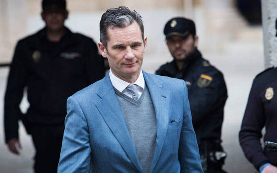 Iñaki Urdangarin, cuñado del rey Felipe VI, condenado a 5 años por corrupción