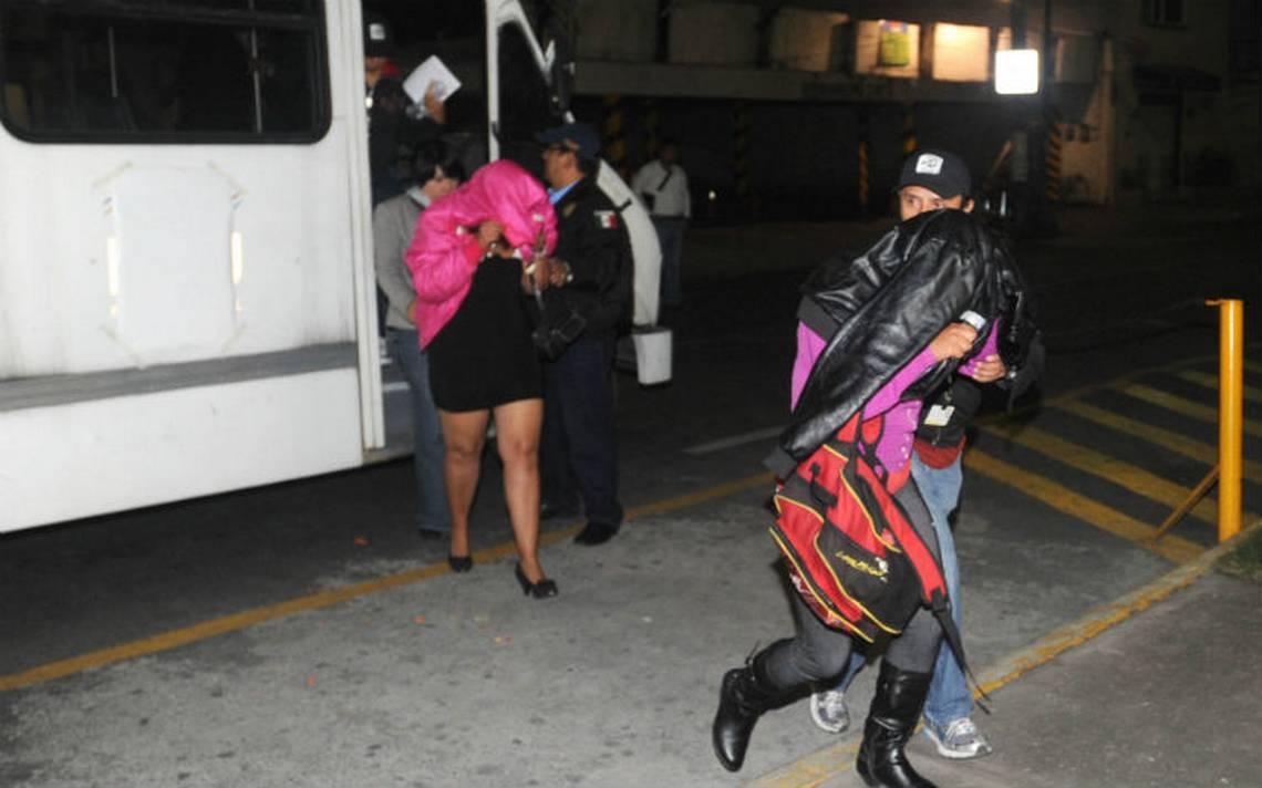 Rescatan a 18 mujeres víctimas de trata en la Benito Juárez