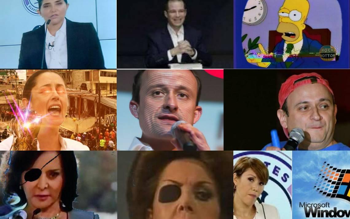 Memes regresan al segundo #DebateChilango y no perdonan a los candidatos