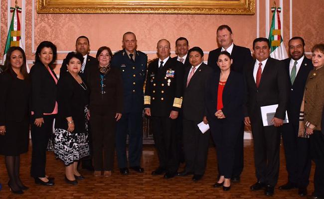 Abordan Secretarios de Defensa y Marina ley de seguridad interior