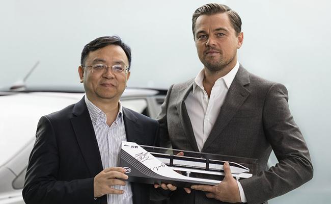 Leonardo DiCaprio, la nueva imagen de los autos verdes BYD