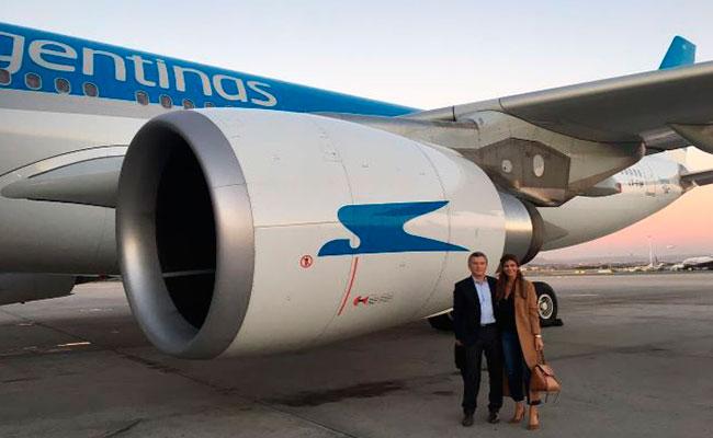 Presidente argentino Macri viajó junto a narcotraficantes en avión