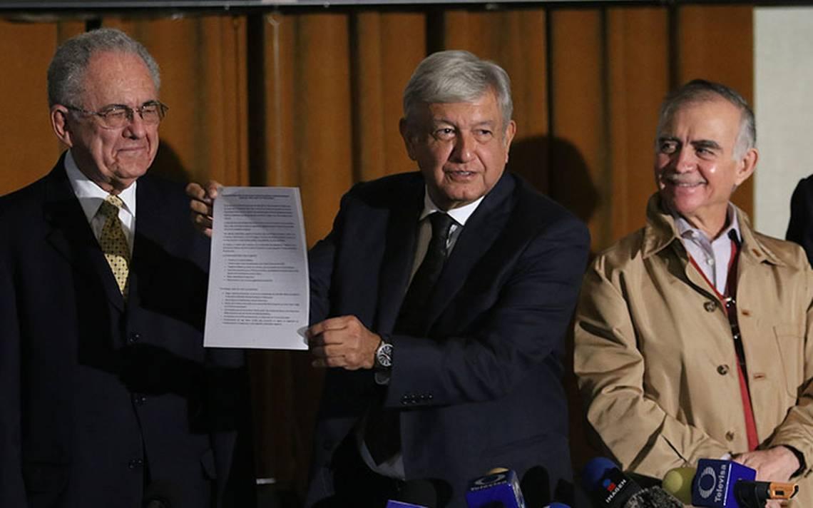 Método de la encuesta para NAIM está definido, preguntas aún no: Jiménez Espriú