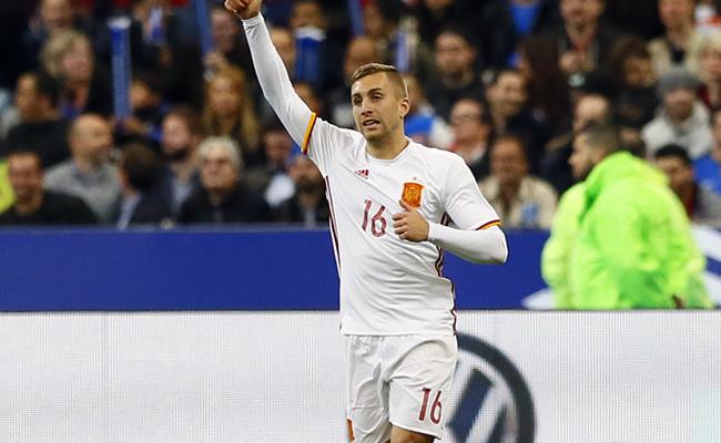 España se impone ante Francia 2-0