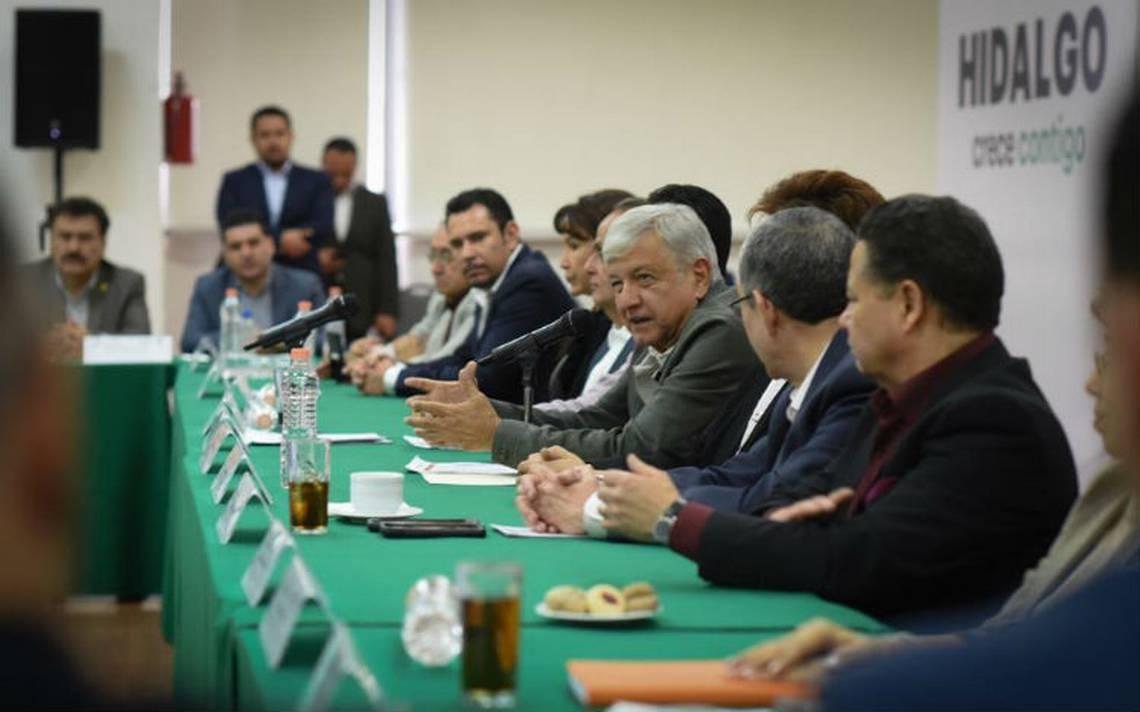 Bombardier construirá vagones del Tren Maya, anuncia AMLO en Hidalgo