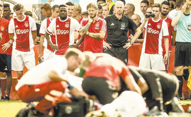 Abdelhak Nouri fuera de peligro tras desmayo en partido
