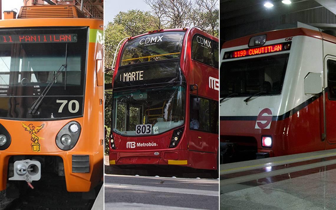 A?Recuerda! Metro, MetrobA?s y Suburbano con horario festivo este martes 1 de mayo