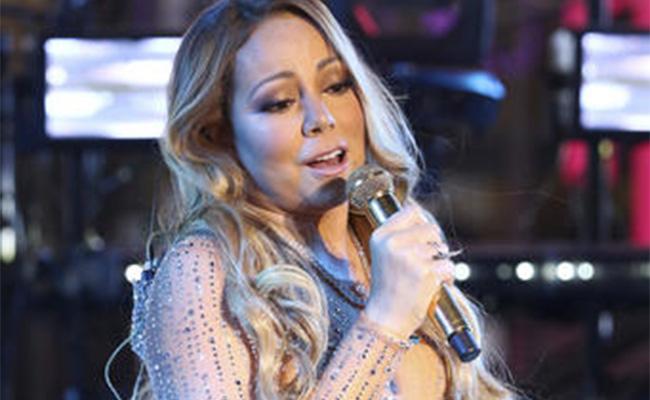 Niegan sabotaje en show de fin de año de Mariah Carey