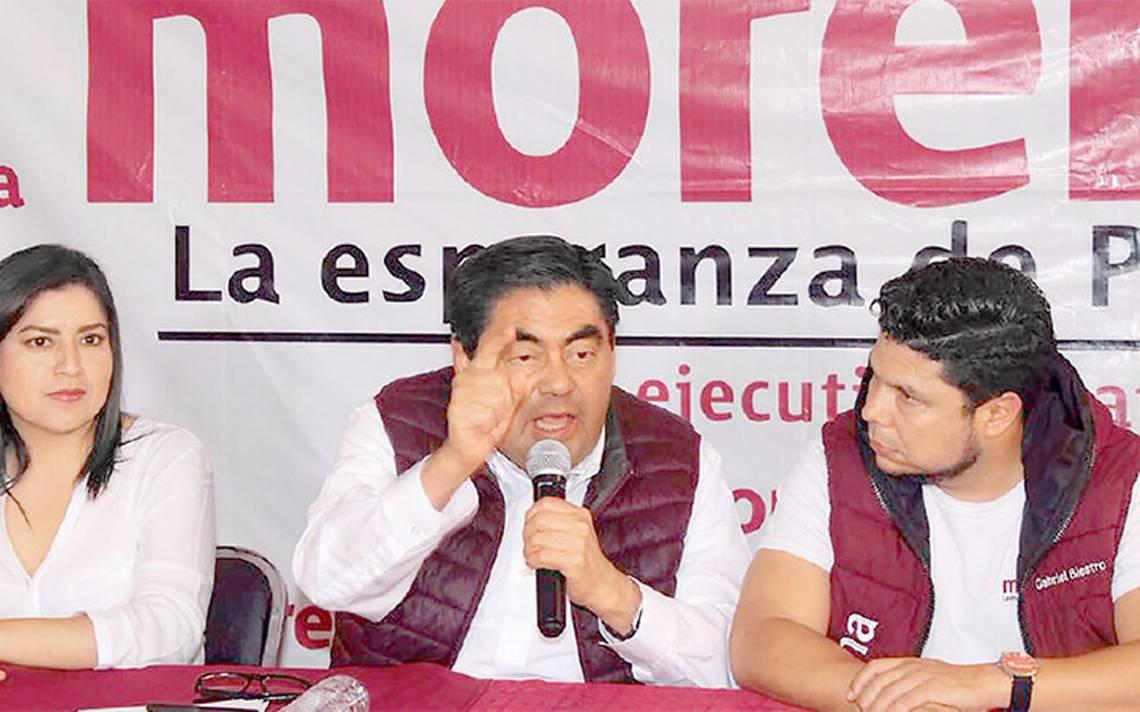 Morena denuncia acoso por parte del gobierno de Puebla