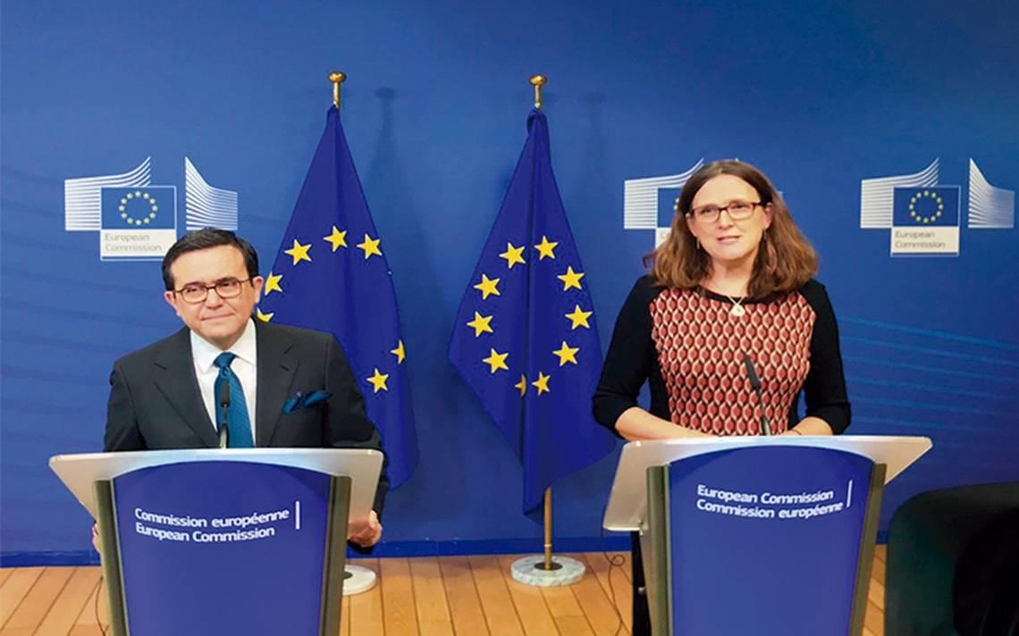 México continúa la negociación de tratado con la UE