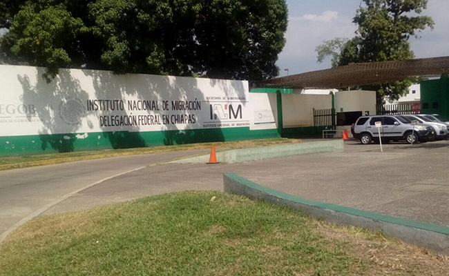 Escapan tres cubanos de estación migratoria en Chiapas