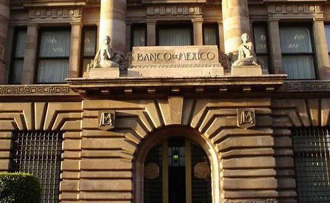 Financiamiento de banca comercial en México crece 3.5% en mayo: Banxico