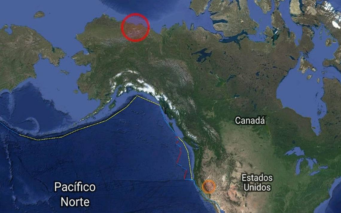 Se registra sismo de magnitud 6.5 en Alaska