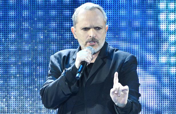 El cantante Miguel Bosé celebra sus 40 años de carrera