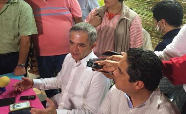 Guerrero, plan piloto para programa Fuerza Conago: Mancera
