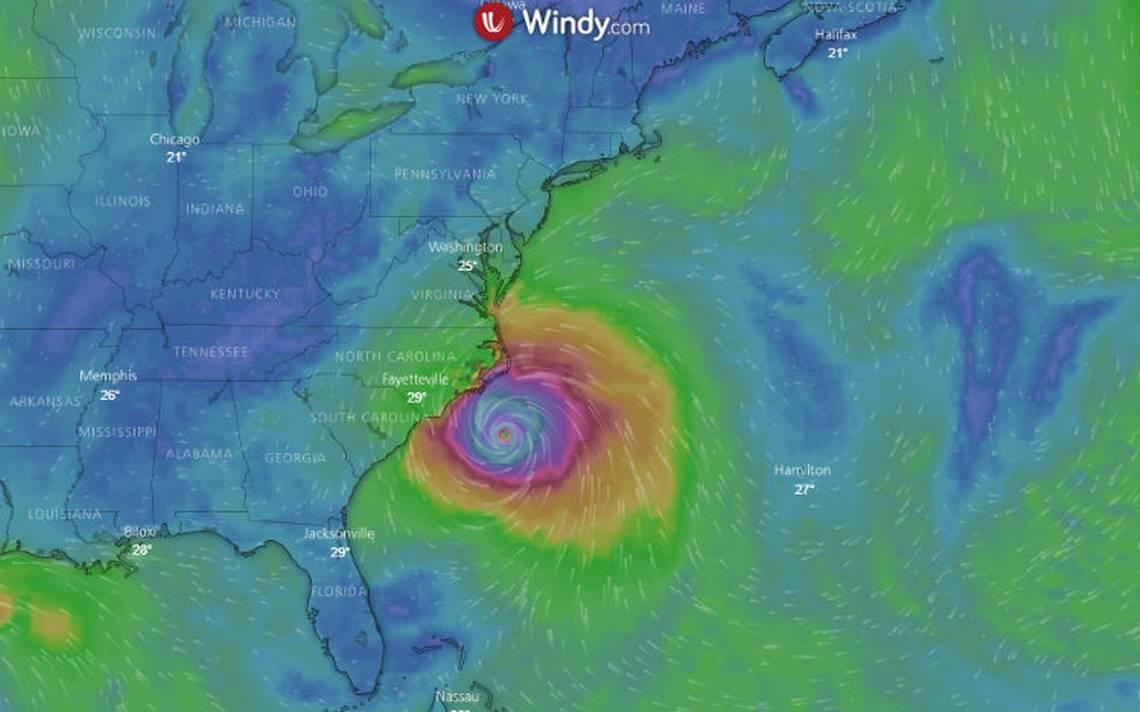 Sigue en vivo el paso del huracán Florence por EU