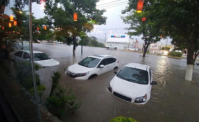 Chiapas, bajo el agua
