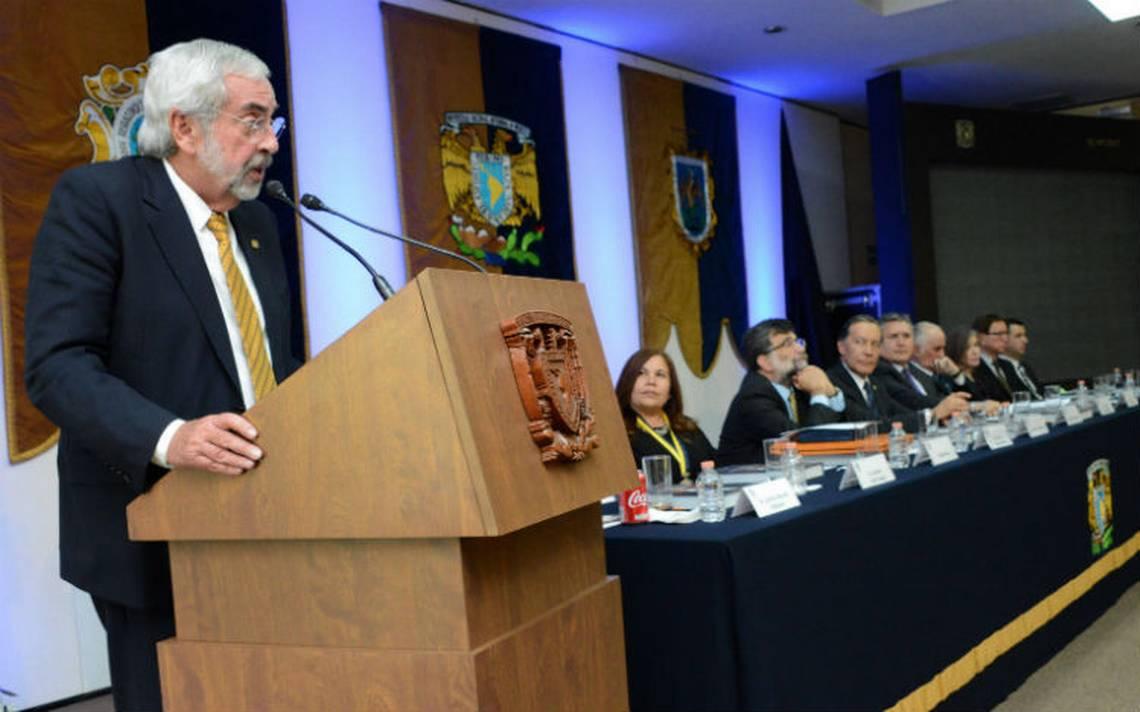 Rector de la UNAM pide esclarecer homicidio de académico