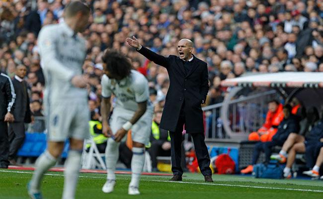 Zidane no se confía tras victoria de Real Madrid ante Napoli en Champions